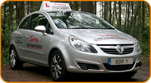 Automatic Driving Lesson Surrey